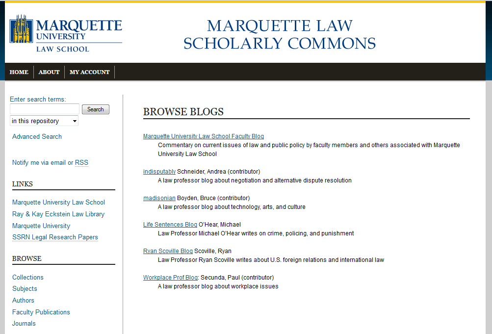 Marquette Scholarly Commons