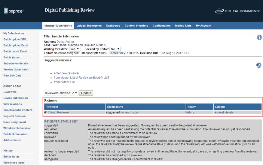 Managing and Publishing Journals - bepress