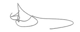 Olivier's signature